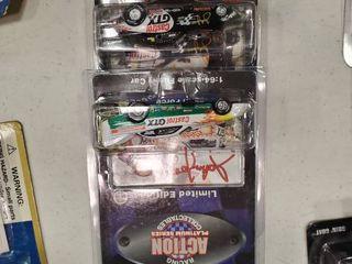 2 John Force Action Platinum Series Die Cast Cars