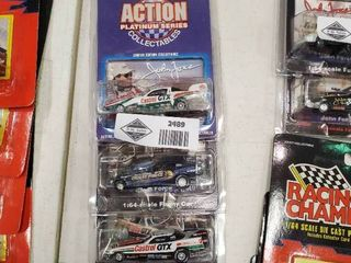 lot of 3 Action lighting Series John Force Die Cast Cars