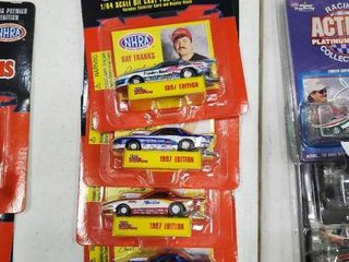 lot of 4 Racing Champions 1997 Die Cast Cars