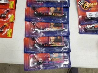 lot of 5 Winner s Circle Die Cast Dragsters