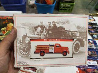 1945 Ahrens Box Model Firetruck