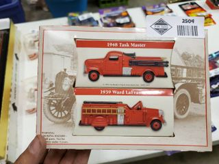 1948 Task Master and 1939 Ward laFrance Model Firetrucks