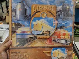 lionel Electric Trains 1000 Piece Puzzle Sealed