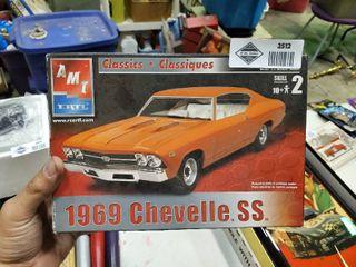 1969 Chevelle SS Model Car