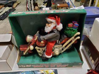 Born to Be Wild Musical Santa Claus