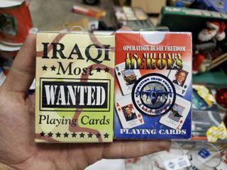 2 Military Themed Decks of Playing Cards