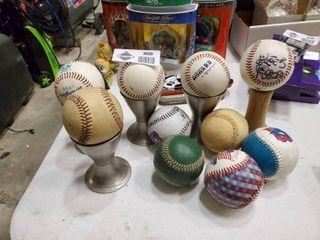 lot of Baseballs