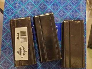 3 M1 Carbine Magazines Full of  30 Carbine