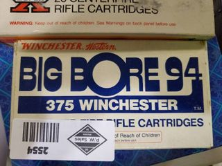 1 5 Boxes Winchester  357 Ammo