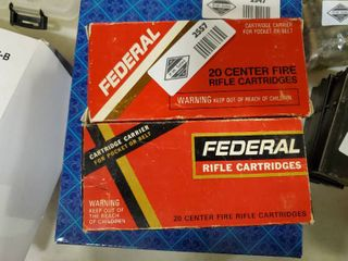2 Boxes Federal 30 30 Win