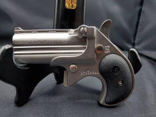 Cobra Enterprise Inc 380 ACP Derringer with Satin Nickel Cerakote Finish