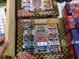 50th Anniversary NASCAR Collector Set limited Edition 1 4