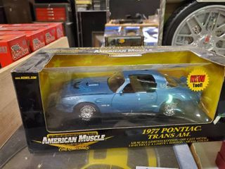 American Muscle Collectible 197 Pontiac Trans Am Die Cast Car
