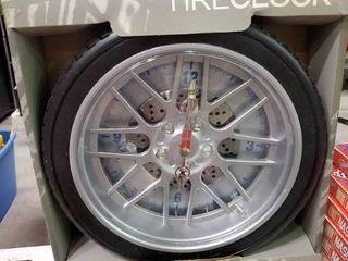 High Performance Tire Clock