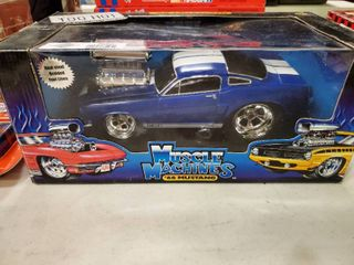 Muscle Machines 1966 Mustang Die Cast Collectible Car