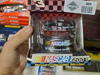 2001 NASCAR Dated Collectible Musical