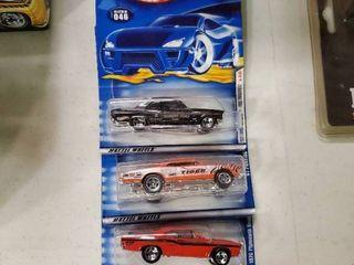 lot of 3 Hot Wheels in Package