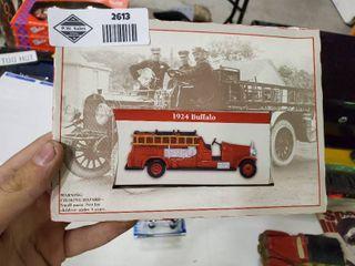 1924 Buffalo Die Cast Fire Engine