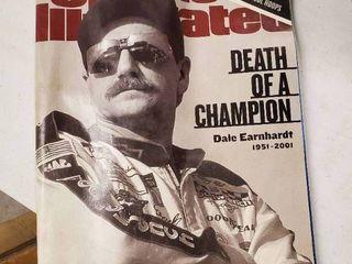 Sports Illustrated Magazine  Death of a Champion