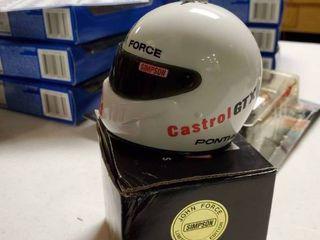 Simpson John Force 1st Edition Mini Helmet