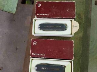 lot of 2 Victorinox Pocket Knives
