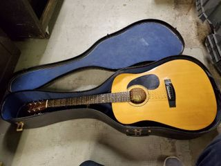 Sigma Acoustic Guitar Model DM1 with Case