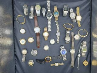 lot of Various Wristwatches
