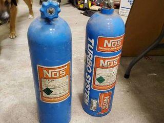 2 25 lb Nitrous Oxide Bottles