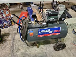 20 Gallon Charge Air Pro Compressor on Wheels