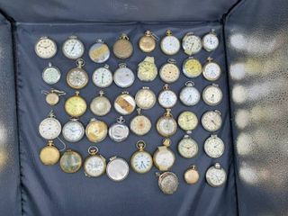 lot of 44 Pocket Watches