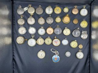 lot of 36 Pocket Watches