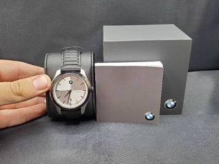 BMW Men s Three Hand Black leather Watch  BMW5000