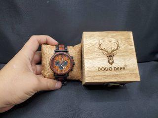 DoDo Deer Wood Watch