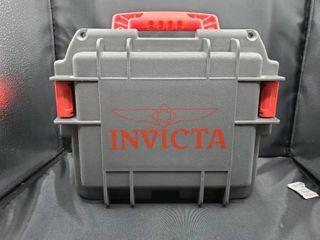 Invicta 3 Slot Plastic Watch Box Case