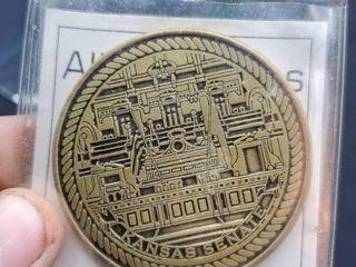 Ad Astra Per Aspera kansas coin