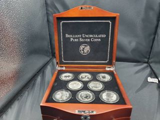 Brilliant Uncirculated Pure Silver Coins