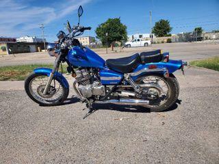 2009 Honda Rebel 250 motorcycle  ONlY 1480 miles  Runs Drives like New