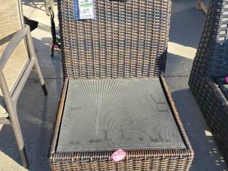large Signature Armless Patio Chair