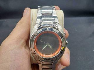 Men s Stainless Steel Fossil Wristwatch Model lI 2333