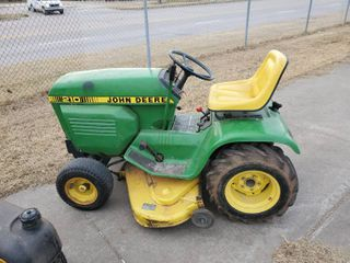 John Deere 210 Tractor  Runs and Drives