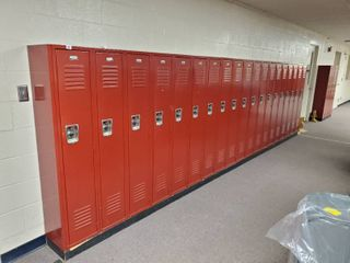 lot of 19 Metal Combination lockers  Made by Penco  Have Combinations to All
