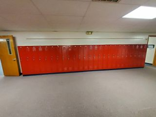 lot of 25 Metal Combination lockers  Made by Republic Storage Systems  Have Combinations to All