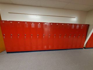lot of 15 Metal Combination lockers  Made by Republic Storage Systems  Have Combinations to All