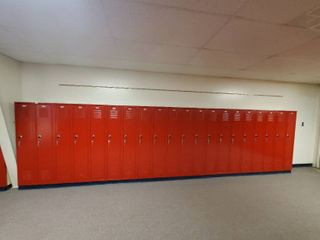 lot of 20 Metal Combination lockers  Made by Republic Storage Systems  Have Combinations to All