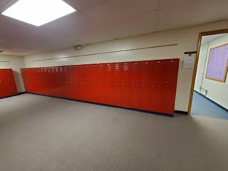 lot of 27 Metal Combination lockers  Made by Republic Storage Systems  Have Combinations to All