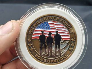 September 11  2001  Never Forget  Commemorative Coin