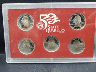 2006 United States Mint 50 State Quarters Silver Proof Set