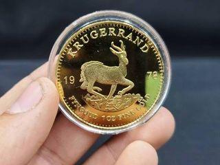 REPlICA  South Africa Krugerand 1978 1 Ounce Fine Gold Coin  REPlICA