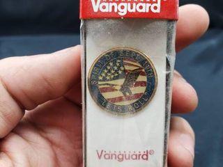 Vanguard lapel Pin Spirit of Sept  11th  let s Roll
