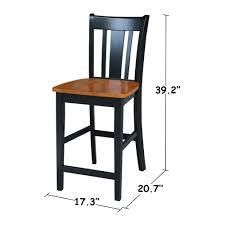 Copper Grove Wistman 24 inch Counter height Stool  Retail 101 49